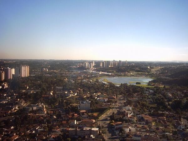 Torre da Brasil Telecom com vista para o Parque Barigui em 2003