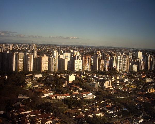 Torre da Brasil Telecom com vista para o Bigorrilho em 2003