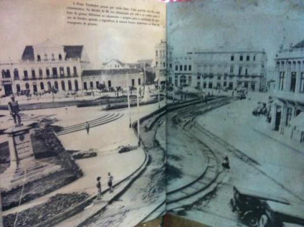 Praça Tiradentes década de 30