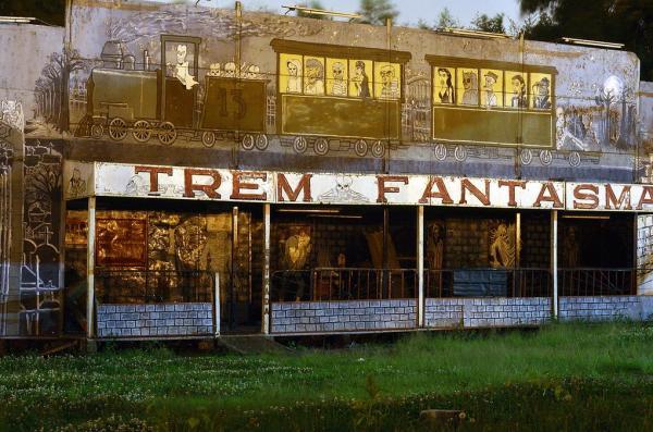 Parque Alvorada em Curitiba Trem Fantasma