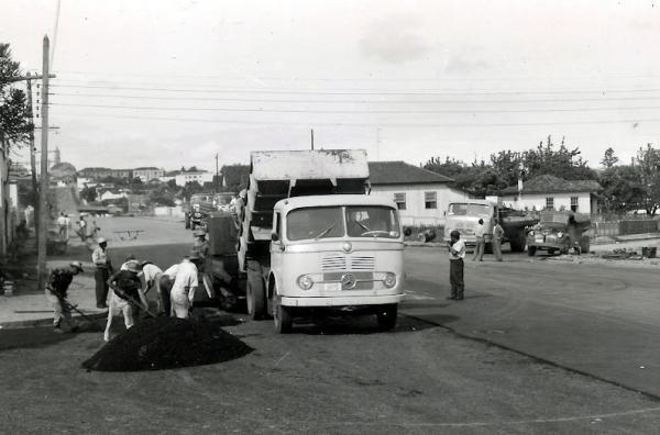 Bairro Portão no ano de 1958 em Curitiba