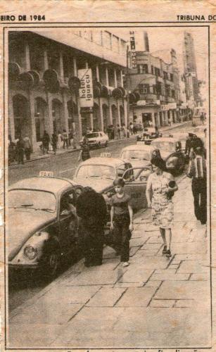 Rua Cândido Lopes Janeiro de 1984