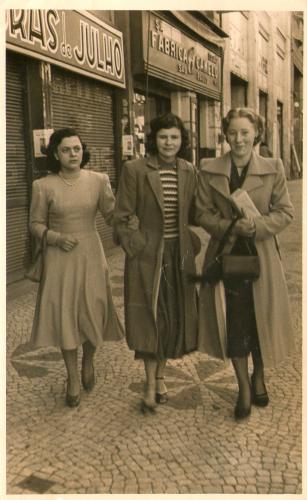 Rua XV de Novembro em Julho de 1951