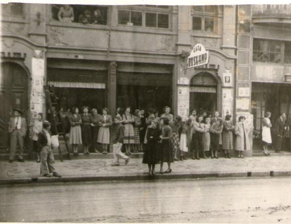 Maio de 1951 Antiga Casa Roskamp na Rua XV de Novembro