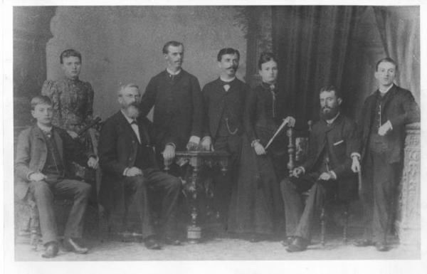 Carlos Augusto Cornelsen e Familia no ano 1840 a 1911