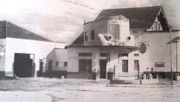 Posto São Luiz em 1940