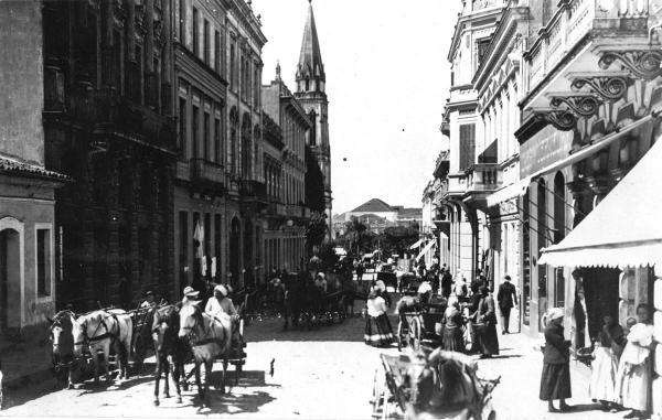 Rua José Bonifácio década de 20