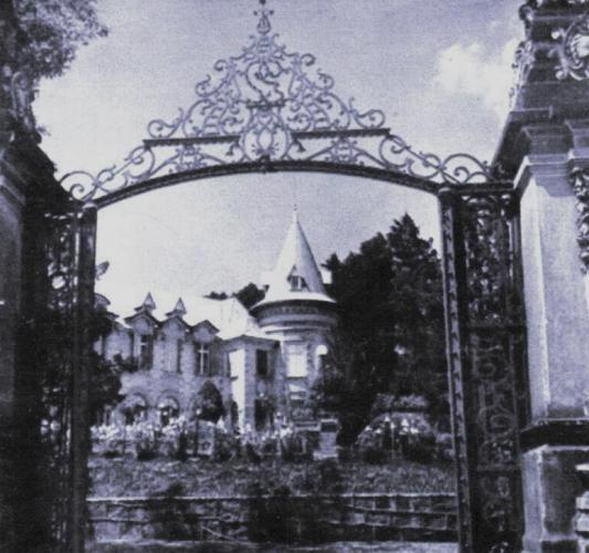 Castelo do Batel em foto de 1954