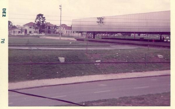 Praça Oswaldo Cruz 1976 em Curitiba