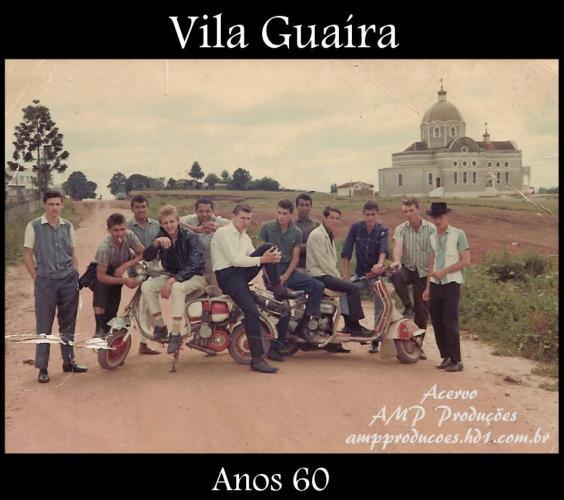 Vila Guaíra nos anos 60 (Colaboração de Pavani Amp)