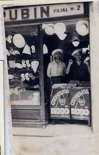Rubin O Líder da Sorte Agencia Lotérica de 1950