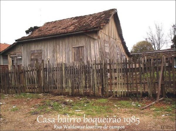 Casa no Bairro Boqueirão de 1995  Rua Waldemar Loureiro de Campos