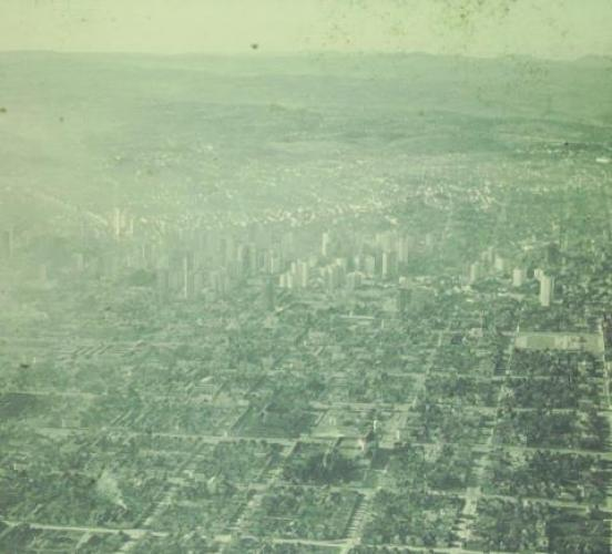 Foto Aérea de Curitiba Década de 60