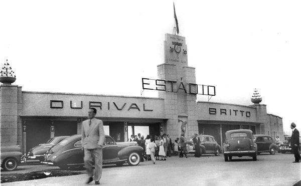 Vila Capanema - Estádio Durival Britto Copa de 1950