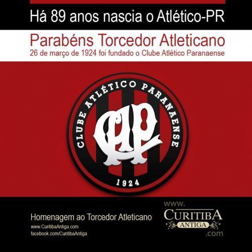 Clube Atlético Paranaense Completa 89 anos