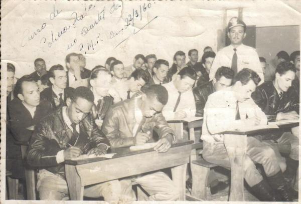 Curso da Policia Rodoviária no ano 1960