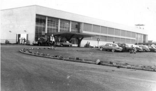 Aeroporto Afonso Pena em 1960