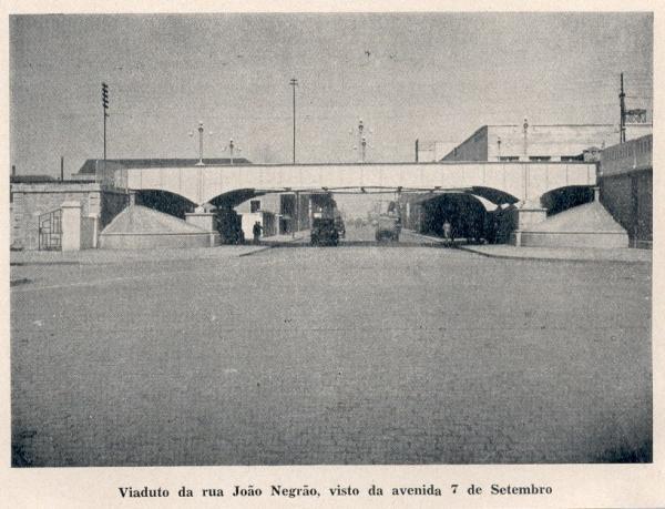 Viaduto da Rua João Negrão vista da 7 de setembro Ponte Preta