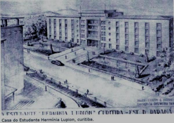 Projeto da Casa do Estudante Universitário em 1948