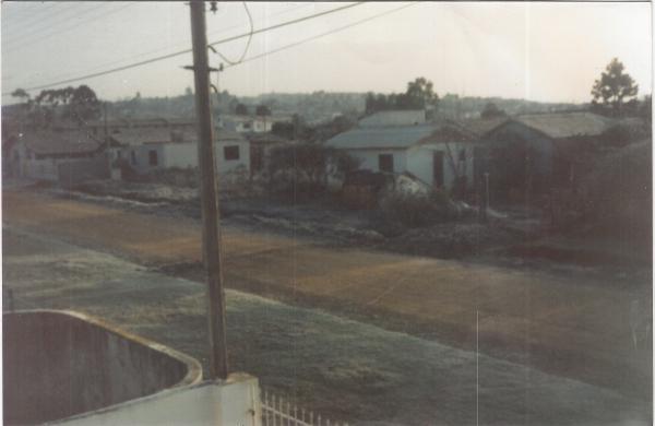 Bairro Alto Rua Alberico Flores Bueno no ano de 1987 antes
