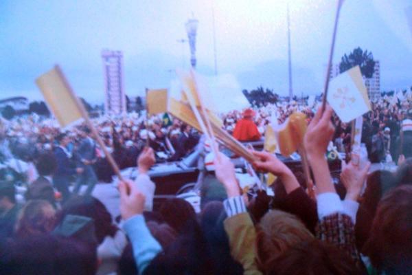 Visita Papa João Paulo II Curitiba Junho 1980