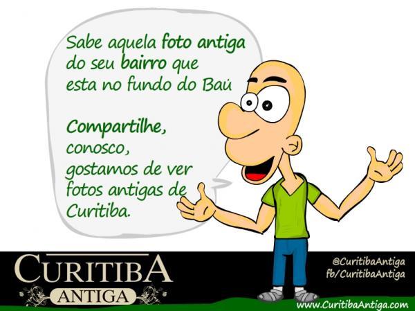 Sabe aquela foto antiga de Curitiba que esta no fundo do Baú compartilhe conosco