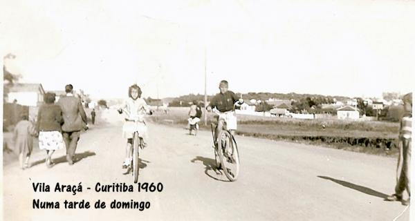 Vila Araçá em 1960 Praça do Capão Raso
