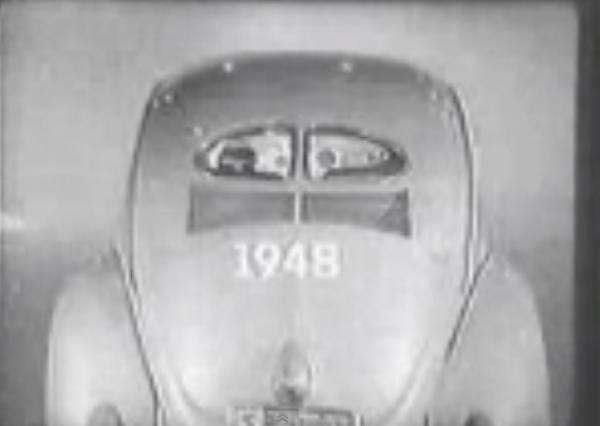 Volkswagen Fusca Comercial antigo   A Simplicidade do Fusca