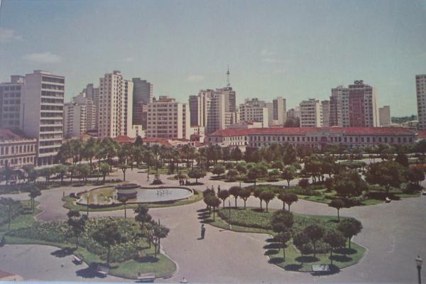 Praça Rui Barbosa Antigamente década de 60 ou 70