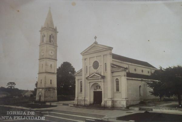 Igreja de Santa Felicidade no ano de 1942