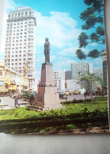 Praça Tiradentes Antigamente