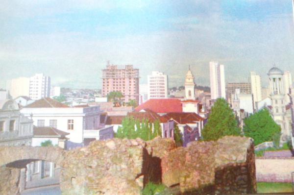 Alto São Francisco e Praça Garibaldi Antigamente