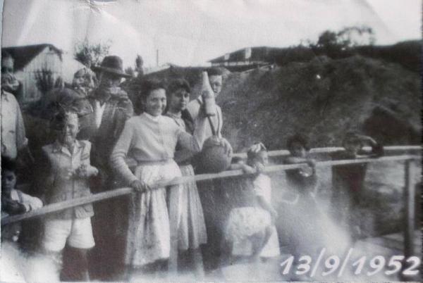 Inauguração da Ponte sobre o Rio Belém em 1952