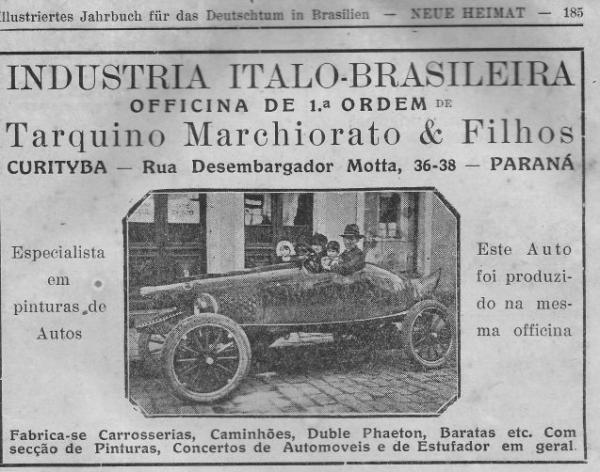 Propagandas Antigas de Curityba  ano de 1929 calendário em língua  alemã Neue Heimat