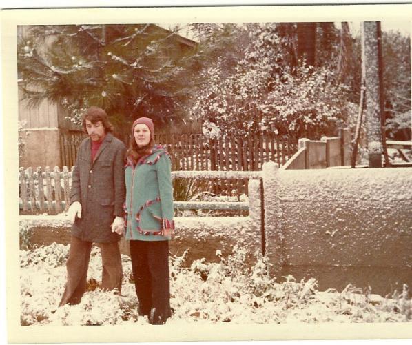 Dia da Neve em Curitiba no Bairro  Cajuru no dia 17 07 1975