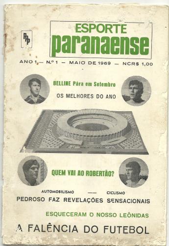 Revista Esporte Paranaense de maio  de 1969