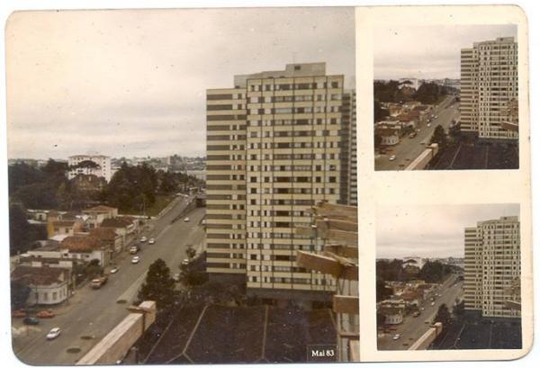 1983 próximo a Rodoferroviária de Curitiba tirada com uma Kodak descartavel