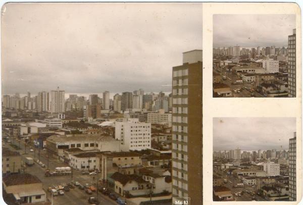 1983 região proximo a Rodoferroviária de Curitiba