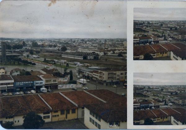 Fotos tiradas em um prédio em construção em 1983