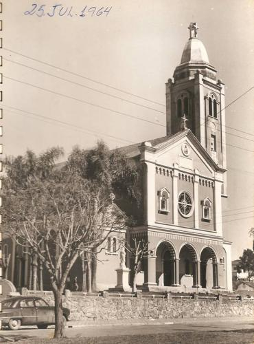 Igreja de Santa Terezinha em 1964