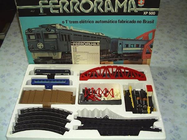 Ferrorama da Estrela sucesso dos anos 80 da piazada