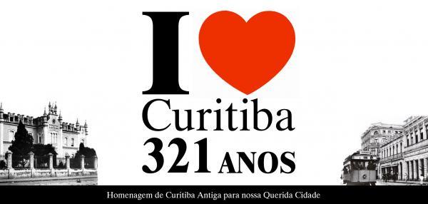 I Love Curitiba - 321 Anos