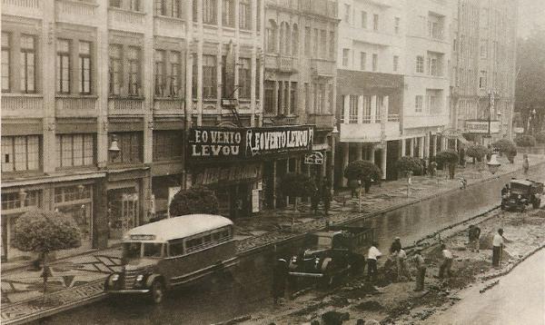 Cenário de Mudanças em 1941 já na fase Avenida João Pessoa