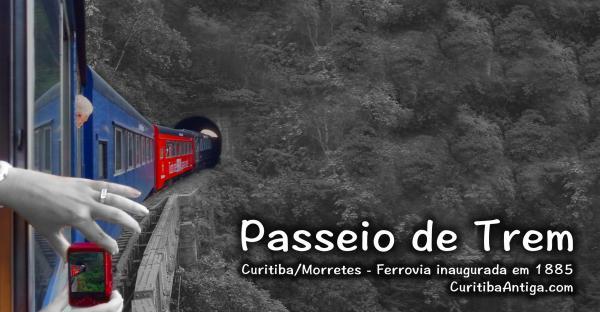 Passeio de Trem Curitiba Morretes Video com os melhores momentos