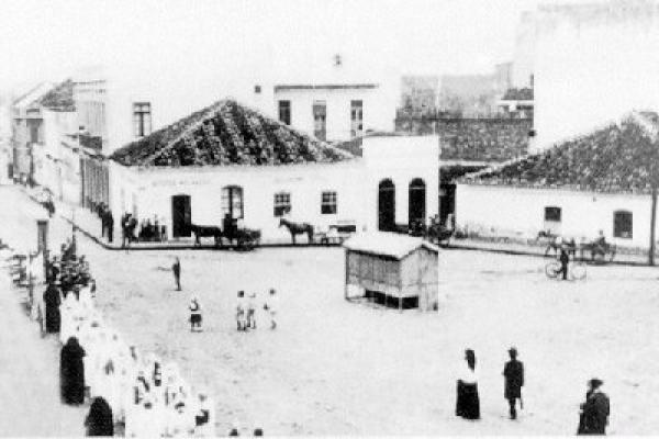 Largo da Ordem em 1923
