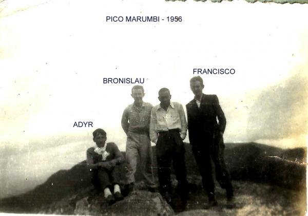 Algumas fotos da década de 1950 do Marumbi
