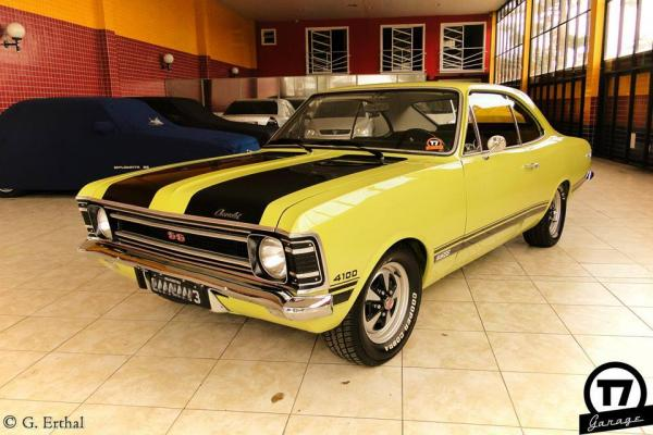 Opala SS6 ano 1972 Motor 4100