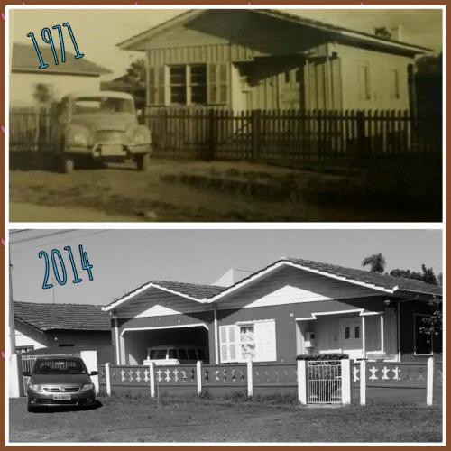 Rua União da Vitória, Barreirinha 1971 e 2014