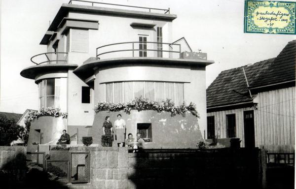Casa Modernista Bernardo Kirchgassner projetada por seu Irmão em 1936