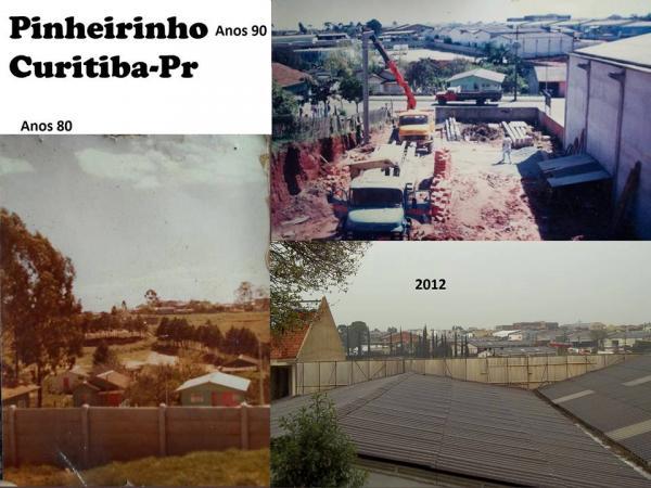 Bairro Pinheirinho Curitiba anos 90